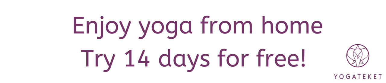Yoga online first 14 days for free