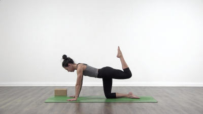 Yoga challenge strength yoga Lizette pompa